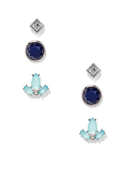 Three-Piece Post Earring Set  - New York & Company