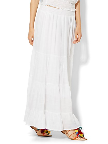 Tiered Maxi Skirt  - New York & Company