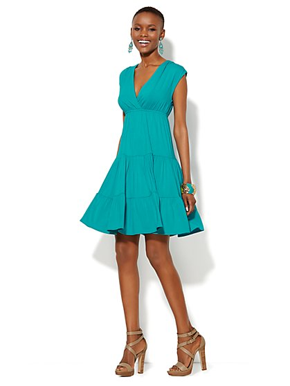 Tiered Ruffle Dress - New York & Company