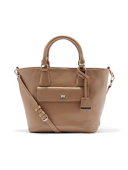 Top Handle Tote Bag - New York & Company