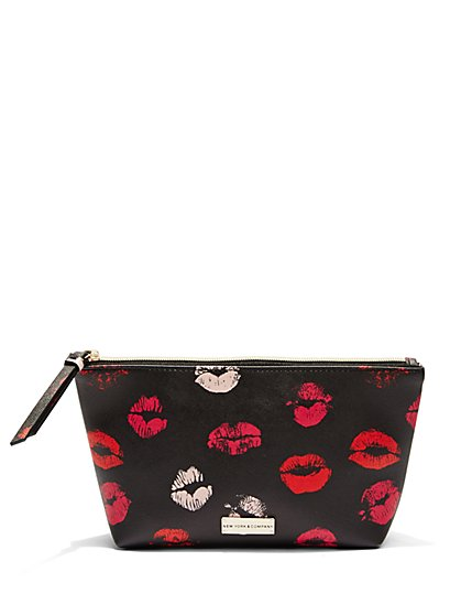 Top-Zip Cosmetic Case  - New York & Company