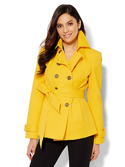 Trench Coat - Solid - New York & Company