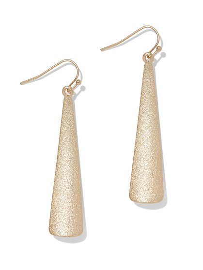 Triangular Drop Earring  - New York & Company