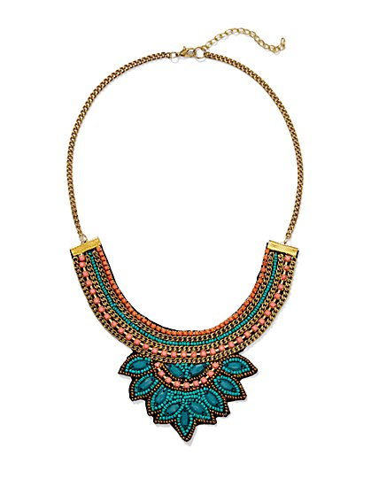 Tribal Bib Necklace  - New York & Company