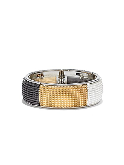 Tricolor Stretch Bracelet - New York & Company