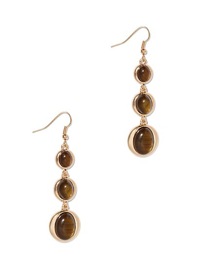 Triple-Circle Drop Earring  - New York & Company