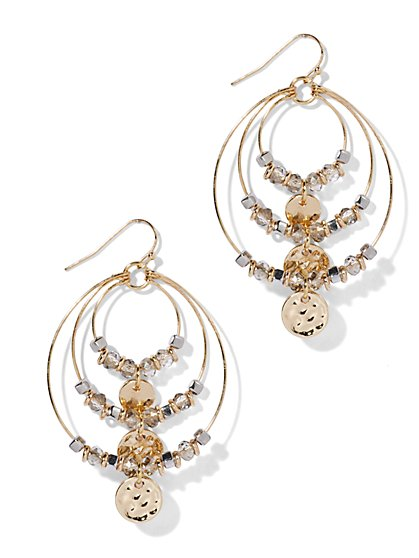 Triple-Hoop Earring  - New York & Company