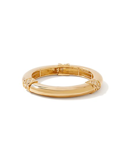 Tube Bangle Stretch Bracelet  - New York & Company