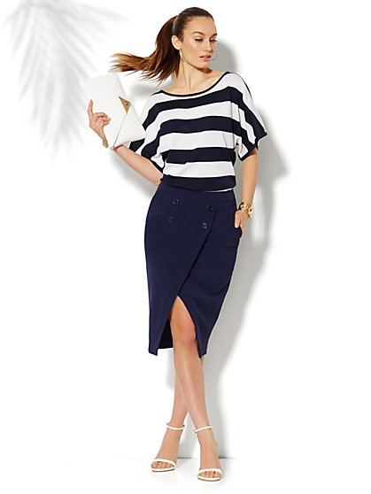 Tulip Sailor Skirt  - New York & Company