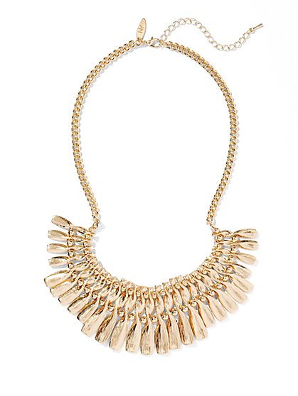 Twist Bib Necklace  - New York & Company