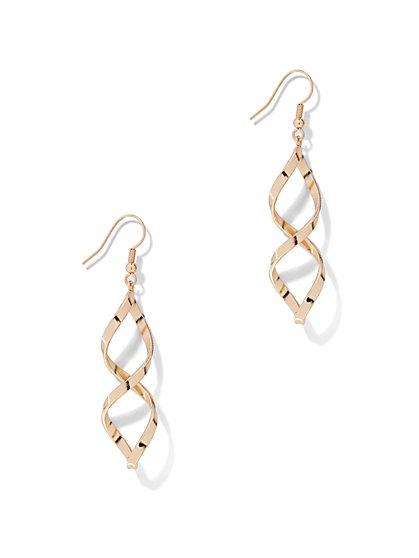 Twist Drop Earring  - New York & Company