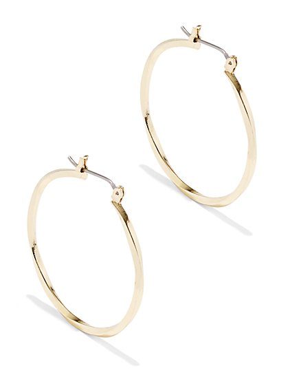 Twist Hoop Earring  - New York & Company