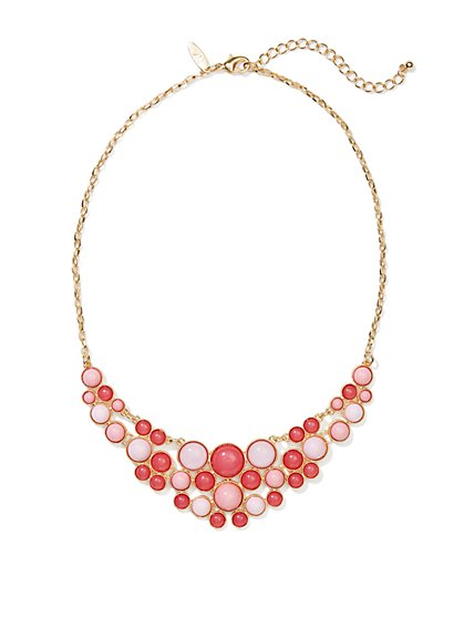 Two-Tone Bib Necklace