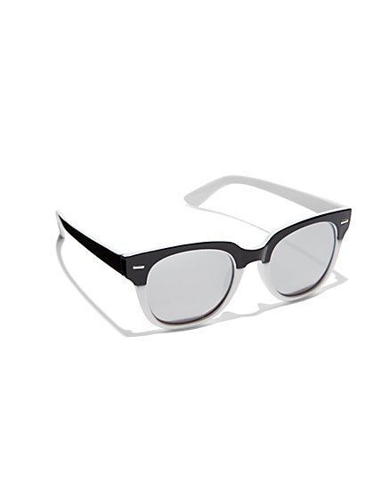 Two-Tone Sunglasses - New York & Company