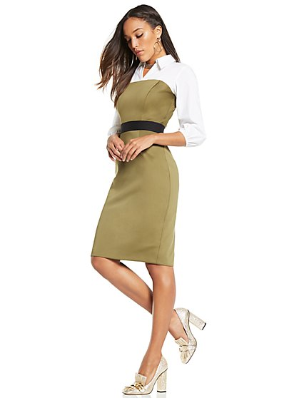 Twofer Sheath Dress - New York & Company