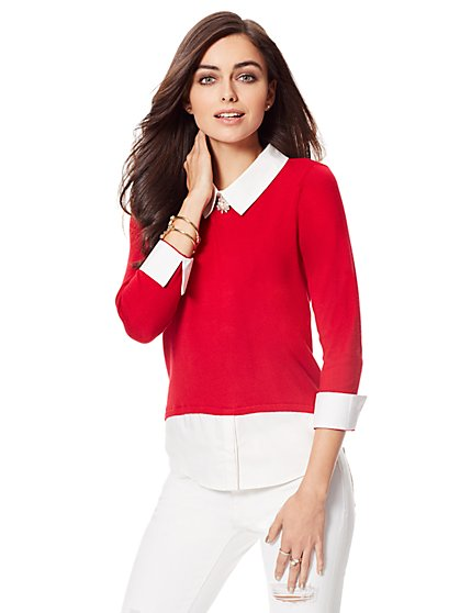 Twofer Sweater - New York & Company