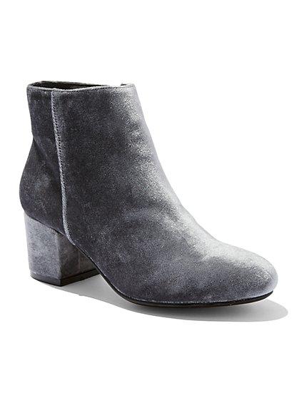 Velvet Ankle Boot  - New York & Company