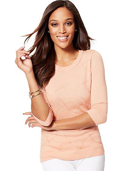 Waverly Crewneck Sweater - Lurex - New York & Company