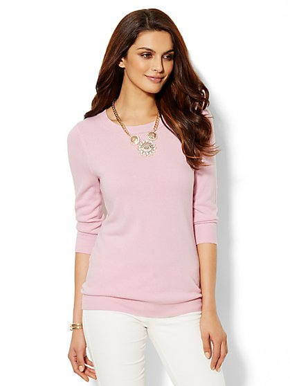 Waverly Crewneck Sweater  - New York & Company