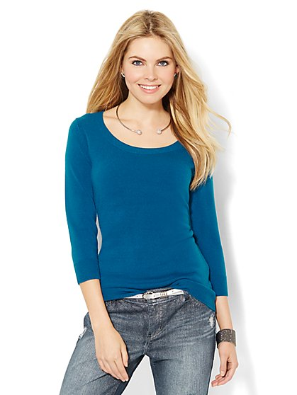 Waverly Sweater - Solid  - New York & Company