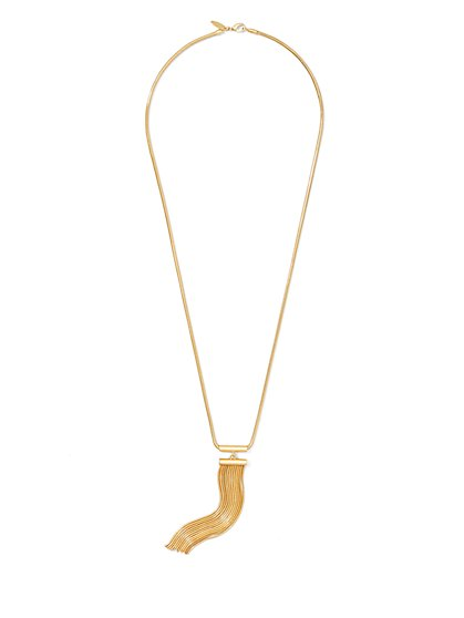 Wavy Pendant Necklace  - New York & Company