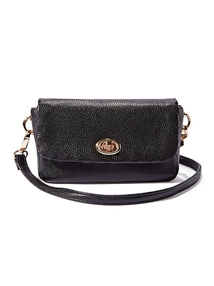 Whipstitch Mini Crossbody Bag