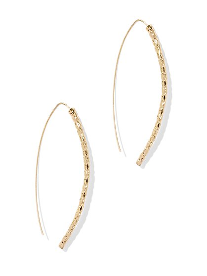 Wishbone Drop Earring  - New York & Company