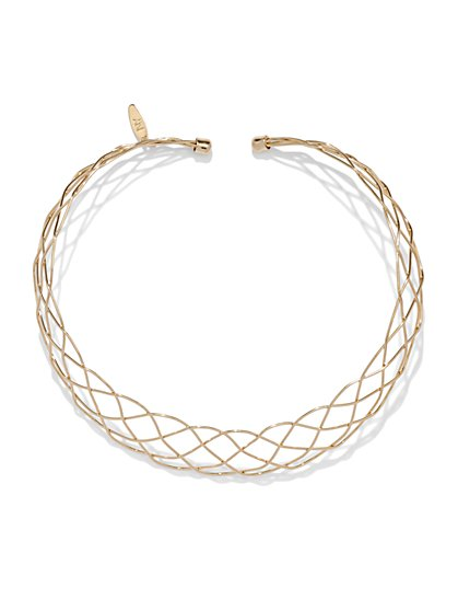 Woven Collar Necklace  - New York & Company