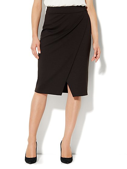 Wrap Pencil Skirt - New York & Company