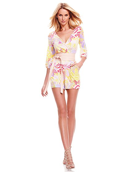 Wrap Romper - New York & Company