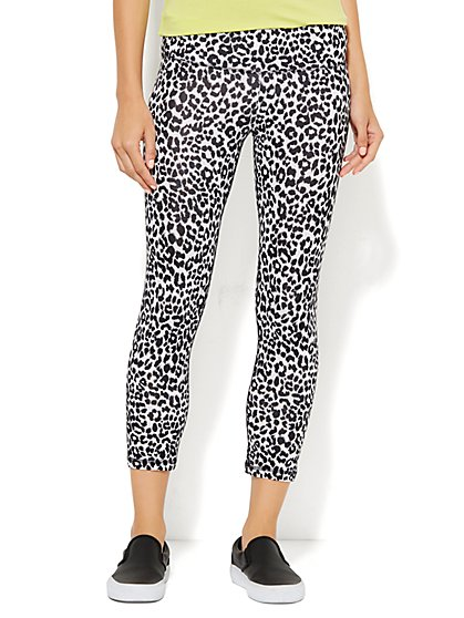 Yoga Pant - Leopard Print  - New York & Company