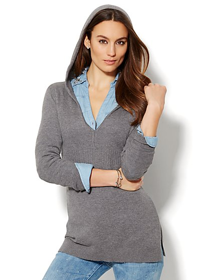 Your Favorite Hoodie Sweater - New York & Company