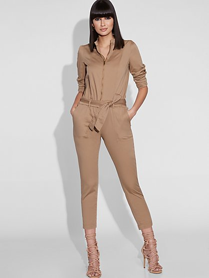 Zip-Front Jumpsuit - Gabrielle Union Collection - New York & Company