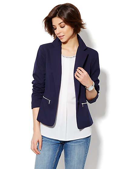 Zip-Pocket Jacket