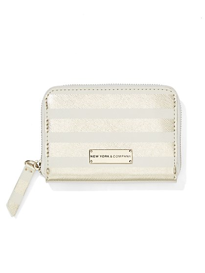 Zip-Top Coin Wallet  - New York & Company