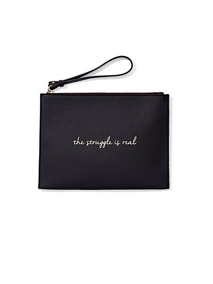 Zip-Top Pochette  - New York & Company