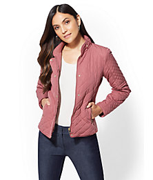 NY Deal Quilted Jacket (Multi Colors)