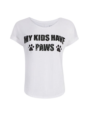 My Kids Have Paws Graphic Tee 02018463 016