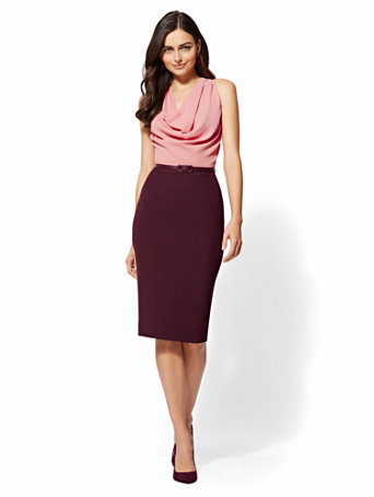 385d76677f 7th-avenue---draped-twofer-sheath-dress by new-