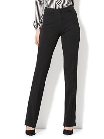 ad6fa2ddc86 NY C  7th Avenue Pant - High-Waist Mini Bootcut - Modern - Black ...
