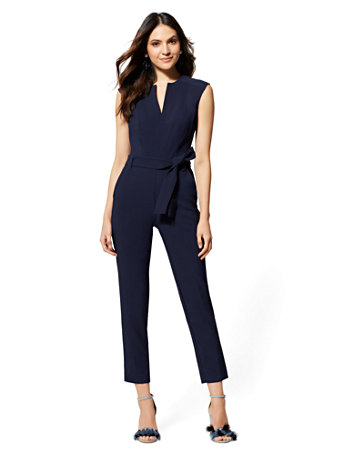 7th Avenue   Petite Madie Jumpsuit by New York & Company