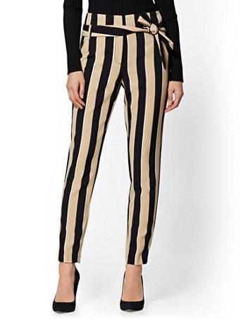 7th Avenue   The Madie Pant   Stripe by New York & Company