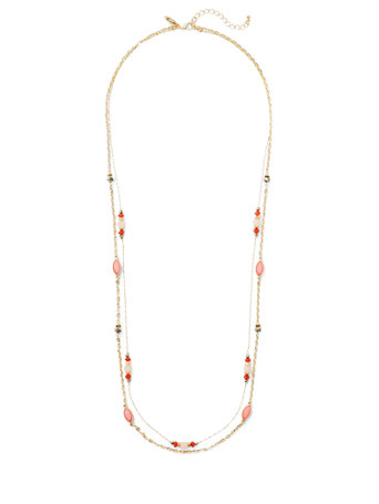 Beaded Double-Row Necklace