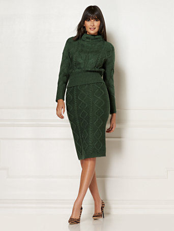 Carlotta Sweater Skirt   Eva Mendes Collection by New York & Company