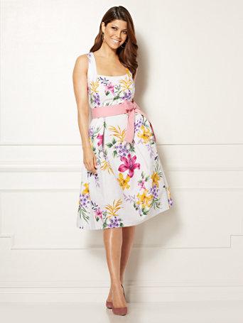 Ny Amp C Catarina Dress Floral Eva Mendes Collection