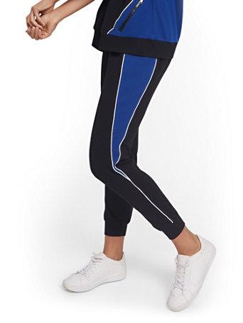 NY&Co Women's Colorblock Jogger Pants