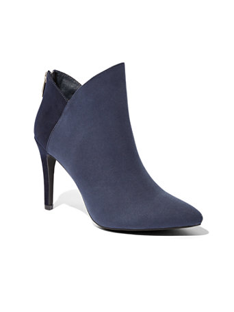 Colorblock Pointed Toe Bootie by New York & Company