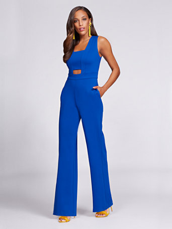 0f1ffd6c83d0 NY C  Cut Out Jumpsuit - Gabrielle Union Collection