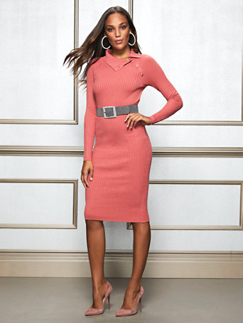 Eva Mendes Collection   Cherie Sweater Dress by New York & Company