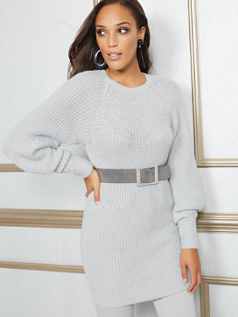 Eva Mendes Collection   Dee Tunic Sweater by New York & Company
